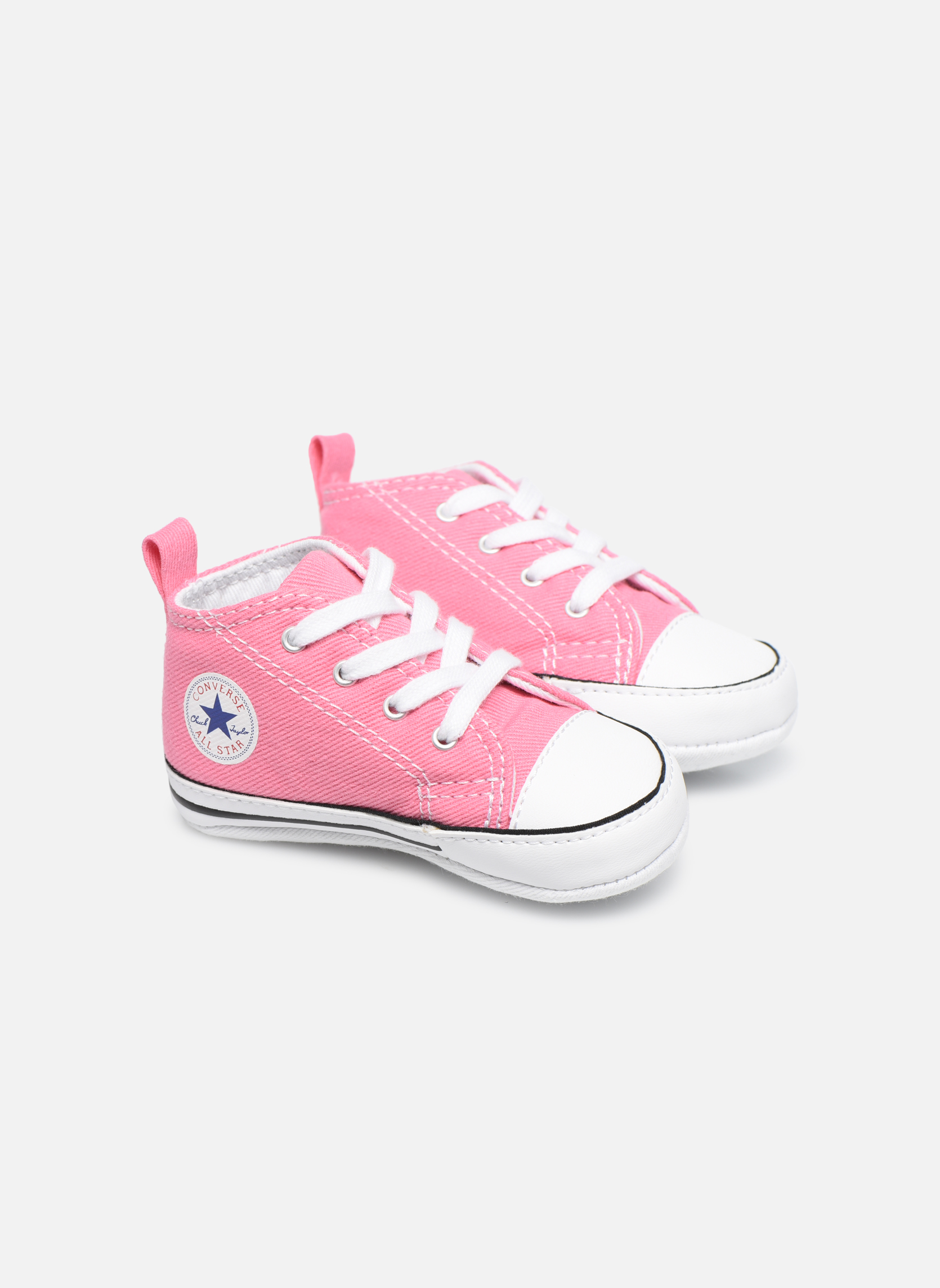 White Converse First Star Cvs (Blanc)