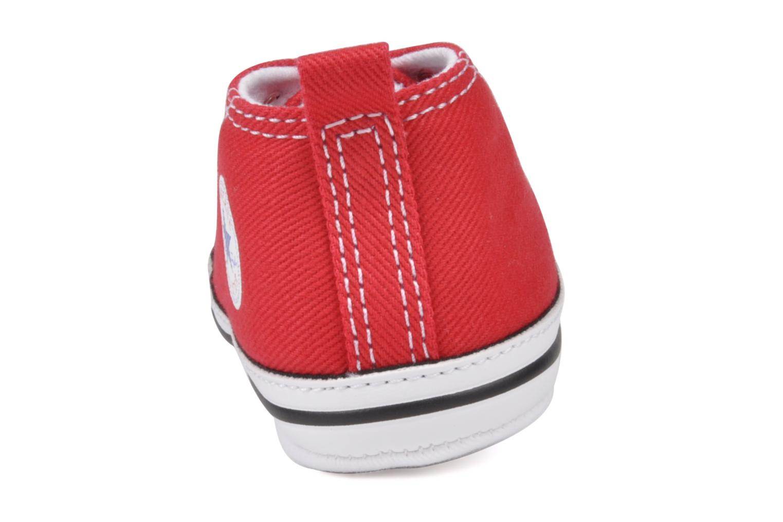 Baskets Converse First Star Cvs Rouge vue droite