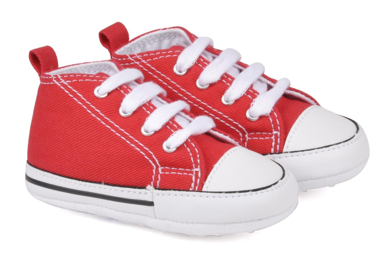 Baskets Converse First Star Cvs Rouge vue détail/paire