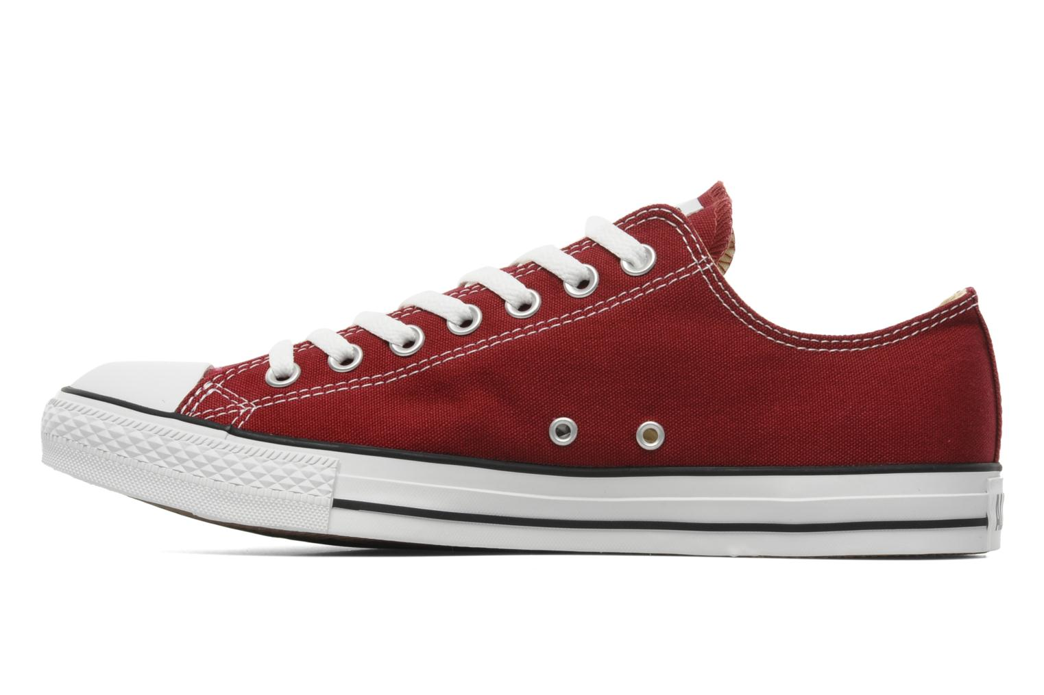 Sneakers Converse Chuck Taylor All Star Ox M Bordò immagine frontale