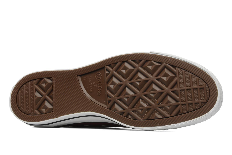 Sneakers Converse Chuck Taylor All Star Ox M Bordò immagine dall'alto