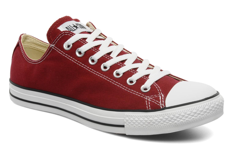 Sneakers Converse Chuck Taylor All Star Ox M Vinröd detaljerad bild på paret