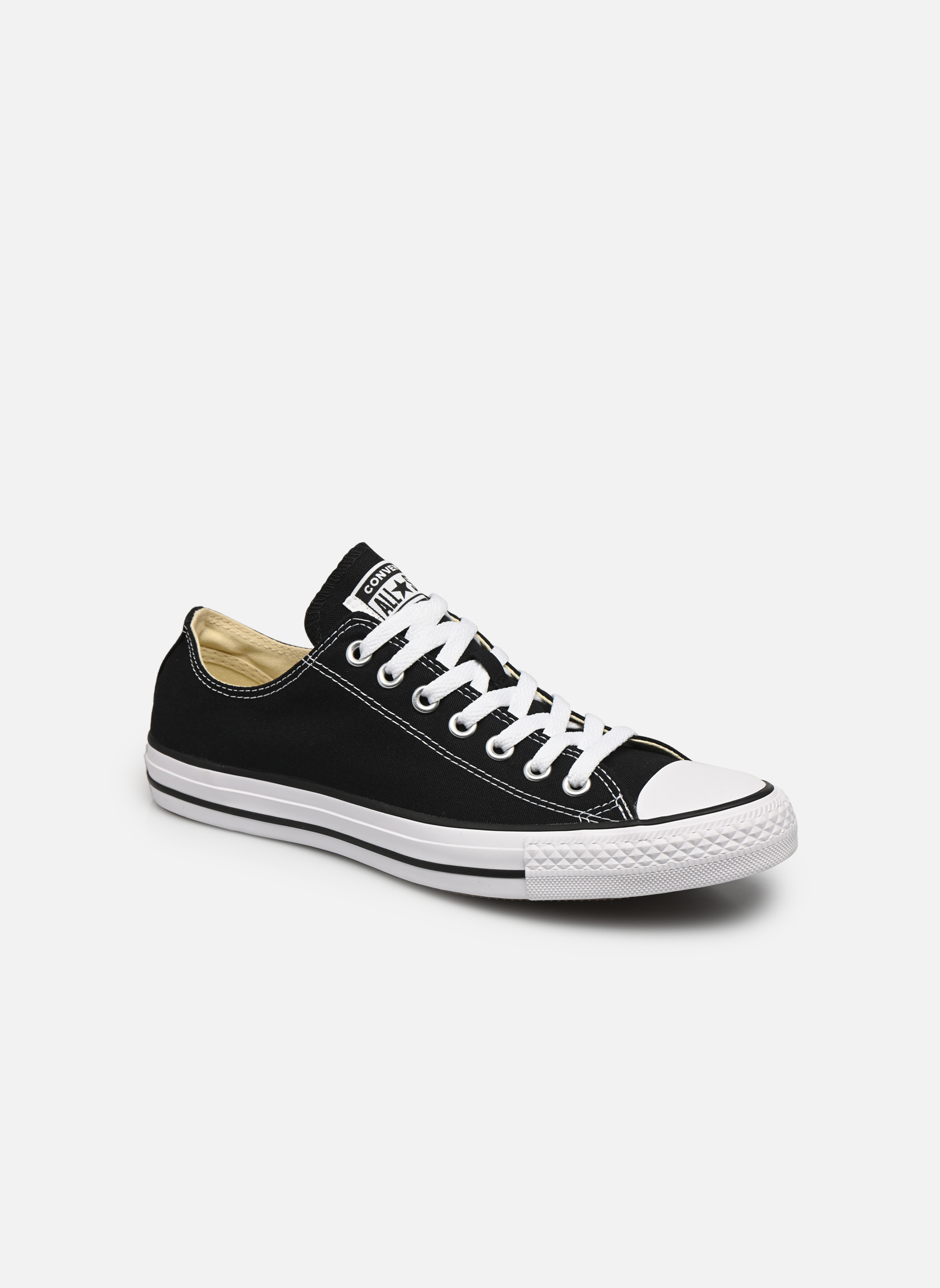 Sneakers Converse Chuck Taylor All Star Ox M Sort detaljeret billede af skoene