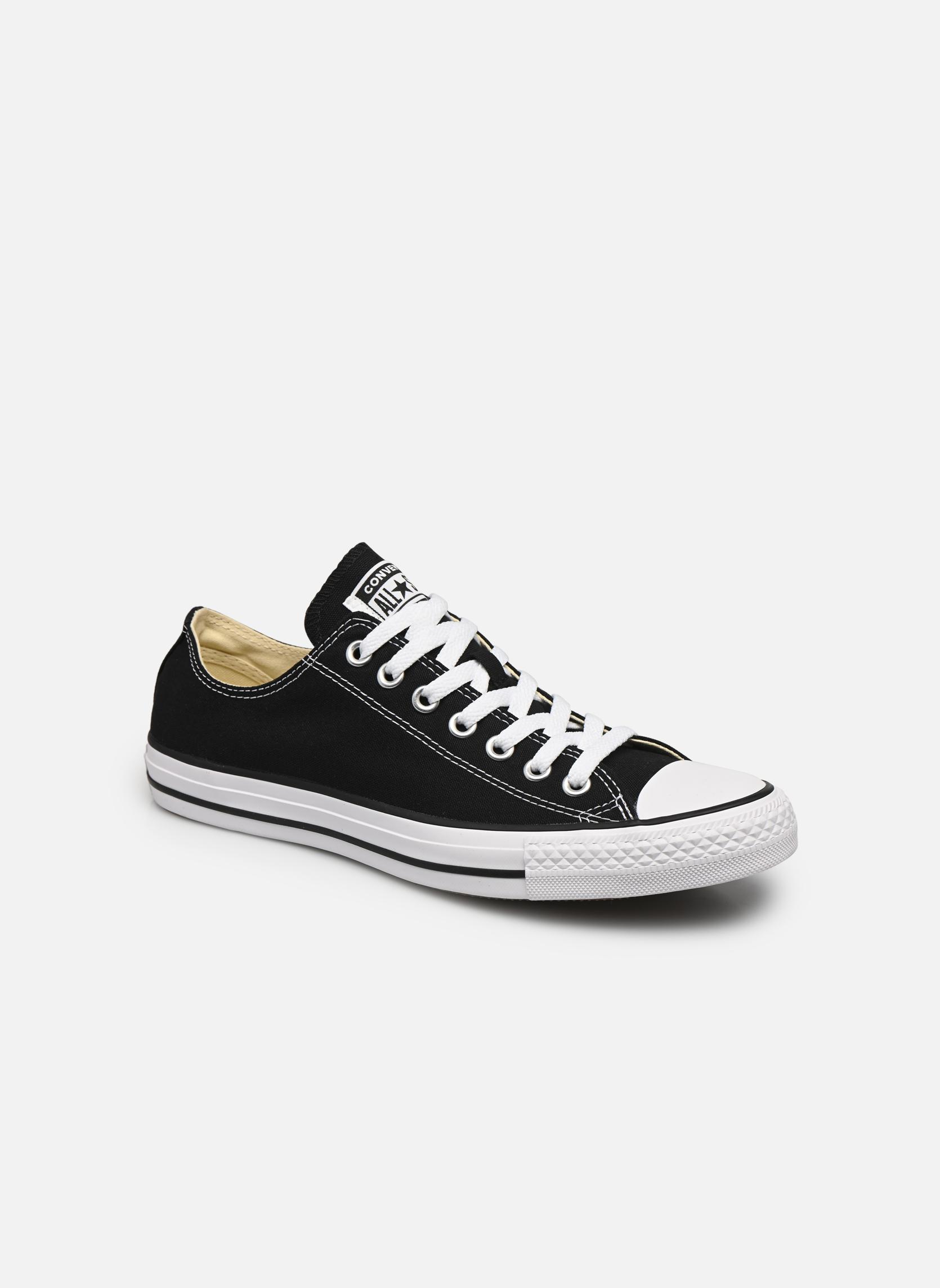 Sneakers Converse Chuck Taylor All Star Ox M Svart detaljerad bild på paret