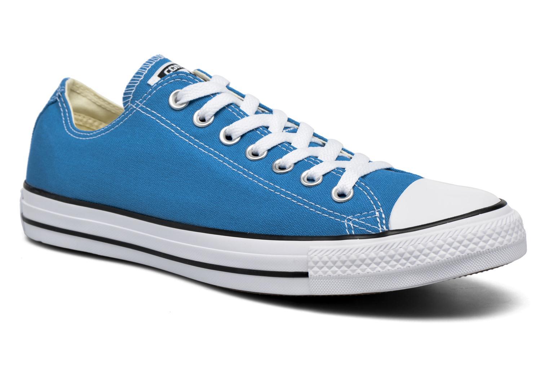 Sneakers Converse Chuck Taylor All Star Ox M Blå detaljeret billede af skoene