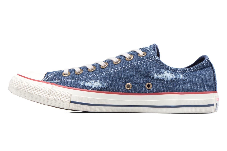 Sneakers Converse Chuck Taylor All Star Ox M Blå bild från framsidan