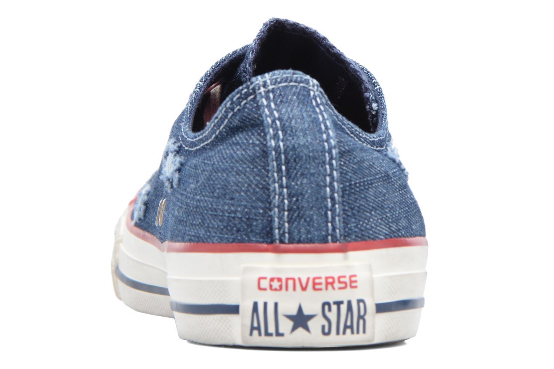 Sneakers Converse Chuck Taylor All Star Ox M Blå Bild från höger sidan