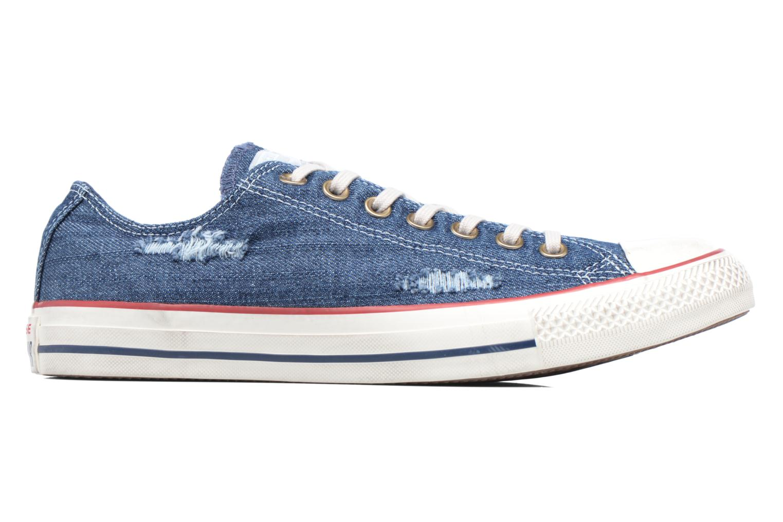 Sneakers Converse Chuck Taylor All Star Ox M Blå bild från baksidan