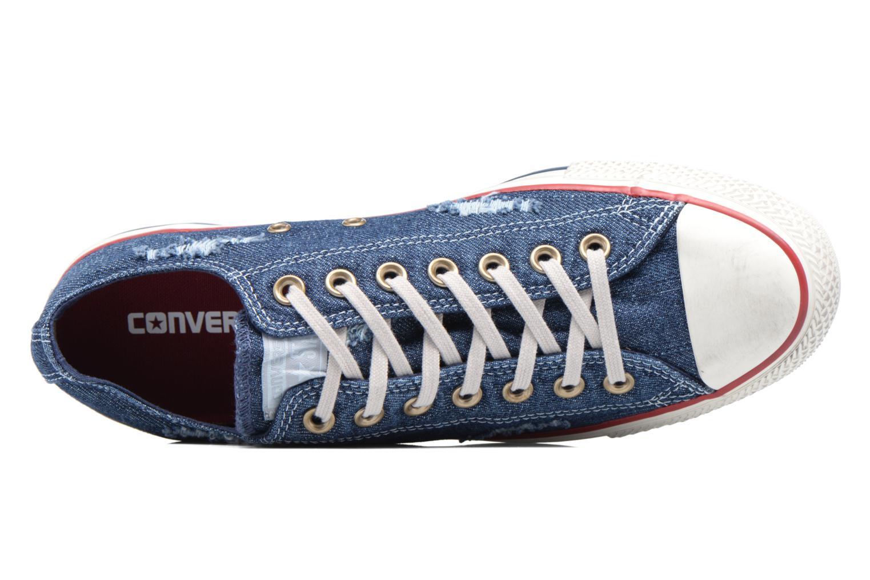 Sneakers Converse Chuck Taylor All Star Ox M Blå bild från vänster sidan