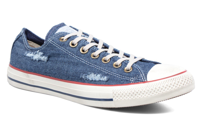Sneakers Converse Chuck Taylor All Star Ox M Blå detaljerad bild på paret