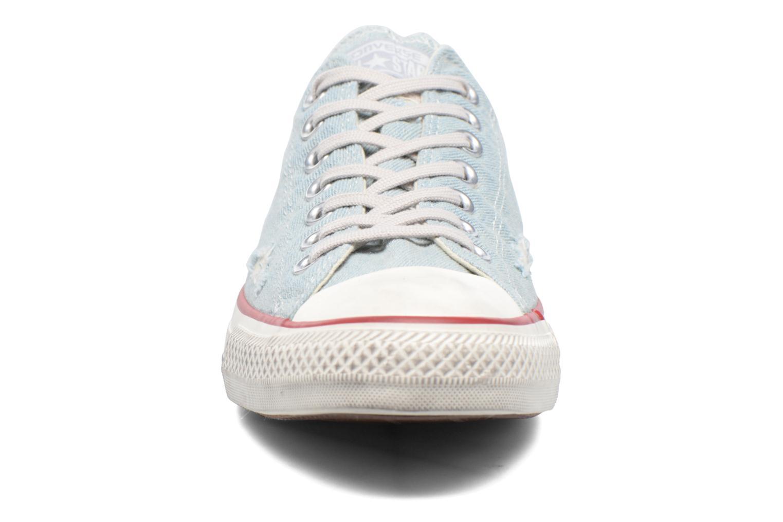 Sneaker Converse Chuck Taylor All Star Ox M blau schuhe getragen