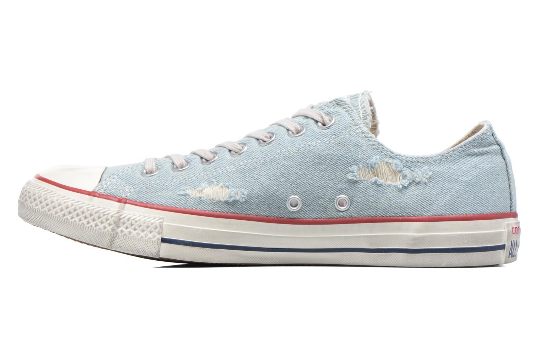Sneaker Converse Chuck Taylor All Star Ox M blau ansicht von vorne