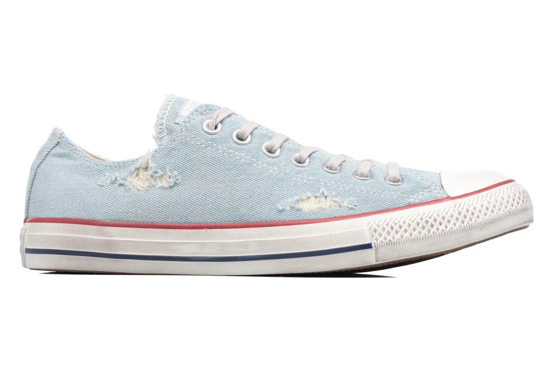 Sneaker Converse Chuck Taylor All Star Ox M blau ansicht von hinten