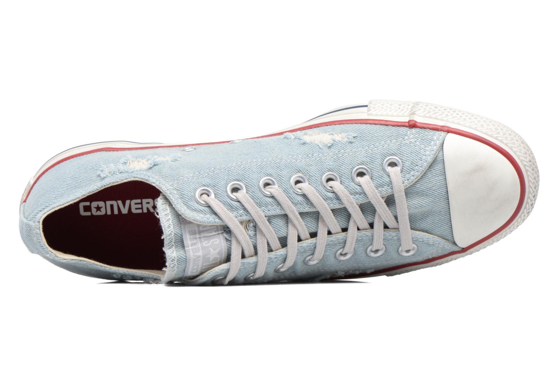 Sneakers Converse Chuck Taylor All Star Ox M Azzurro immagine sinistra