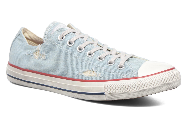 Sneaker Converse Chuck Taylor All Star Ox M blau detaillierte ansicht/modell