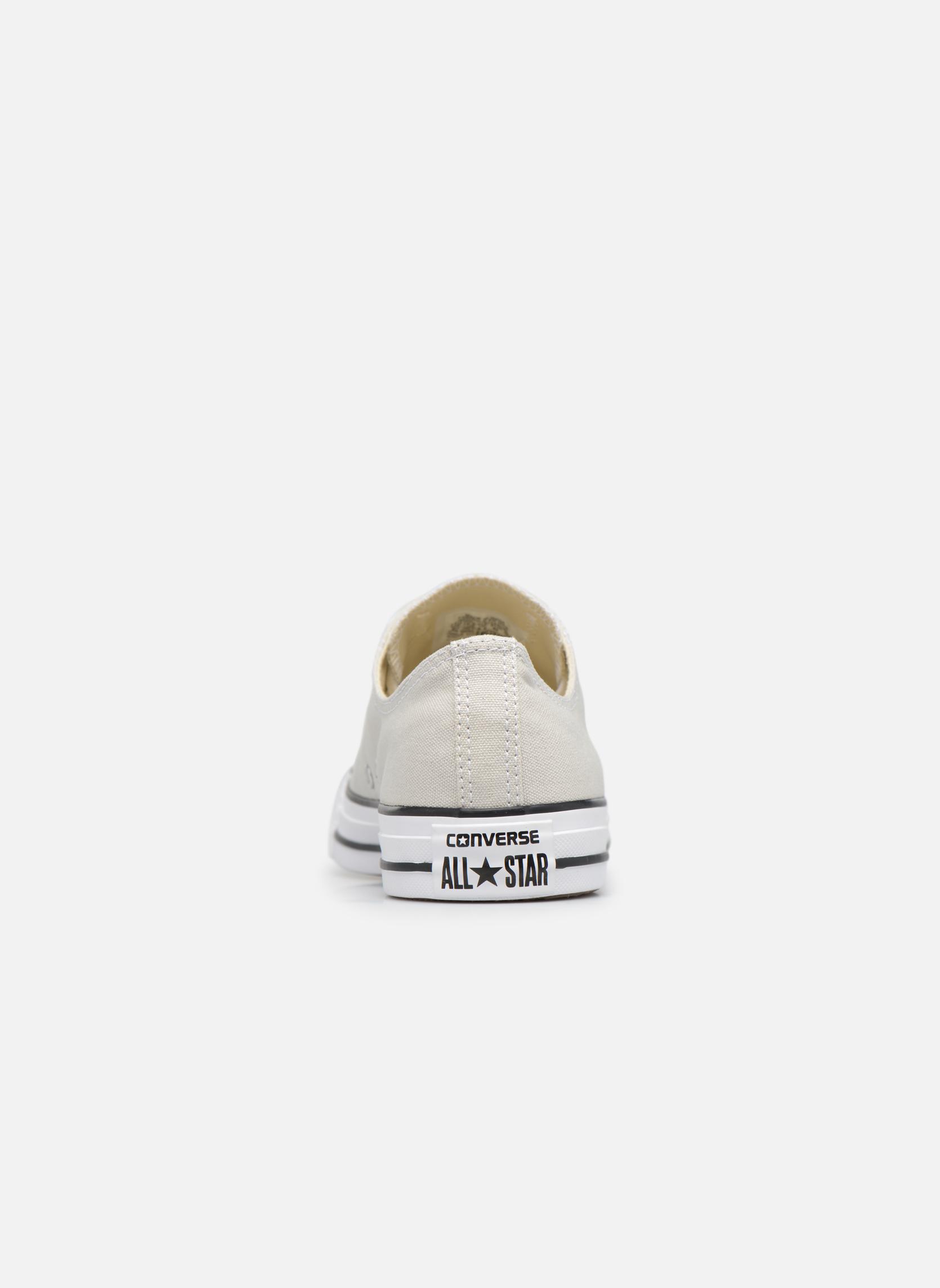 Sneaker Converse Chuck Taylor All Star Ox M grau ansicht von rechts