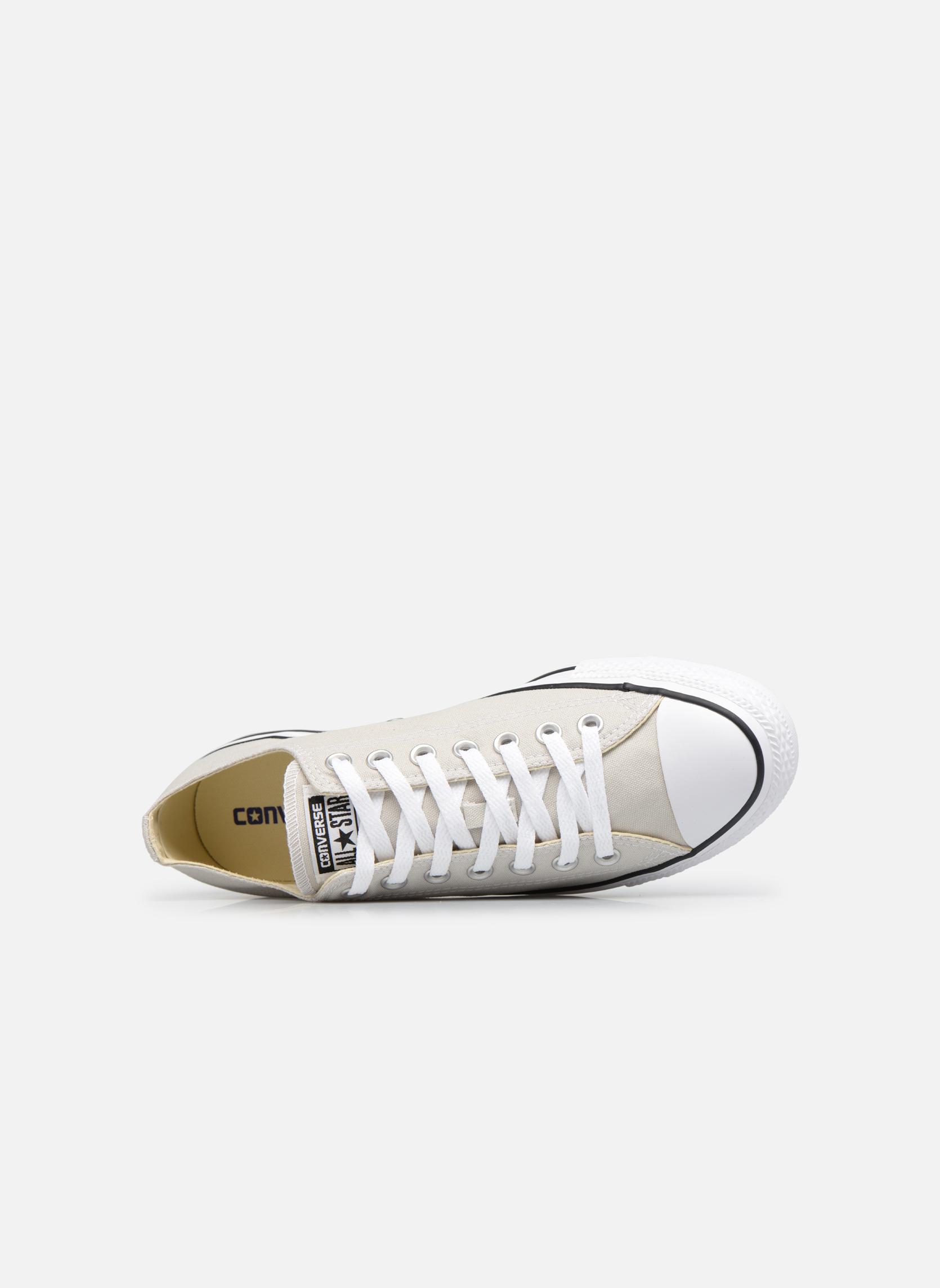 Sneakers Converse Chuck Taylor All Star Ox M Grå bild från vänster sidan