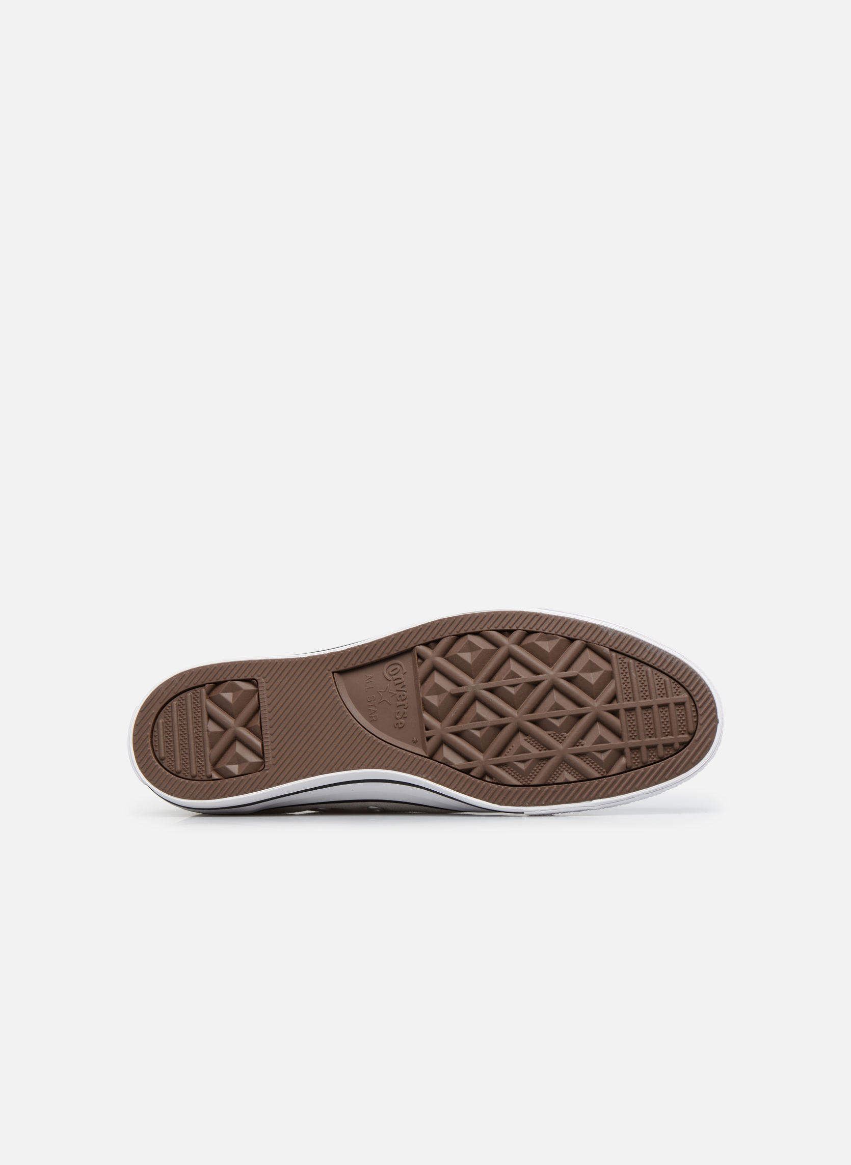 Sneakers Converse Chuck Taylor All Star Ox M Grigio immagine dall'alto