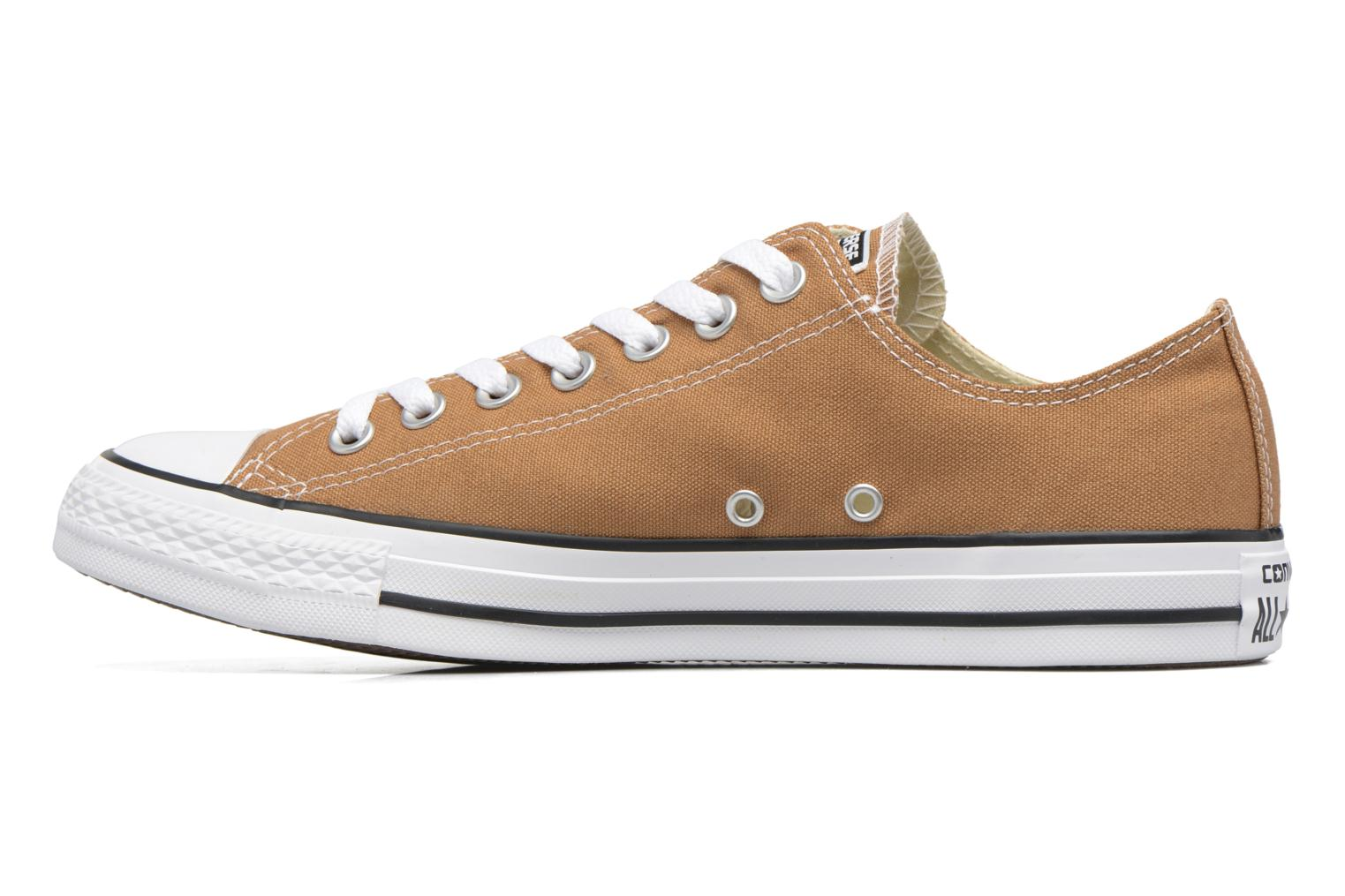 Sneakers Converse Chuck Taylor All Star Ox M Marrone immagine frontale