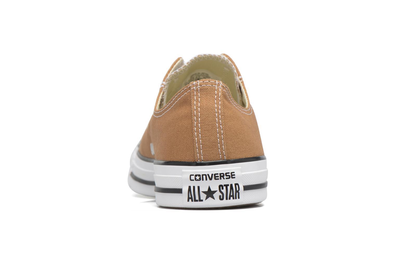 Sneaker Converse Chuck Taylor All Star Ox M braun ansicht von rechts