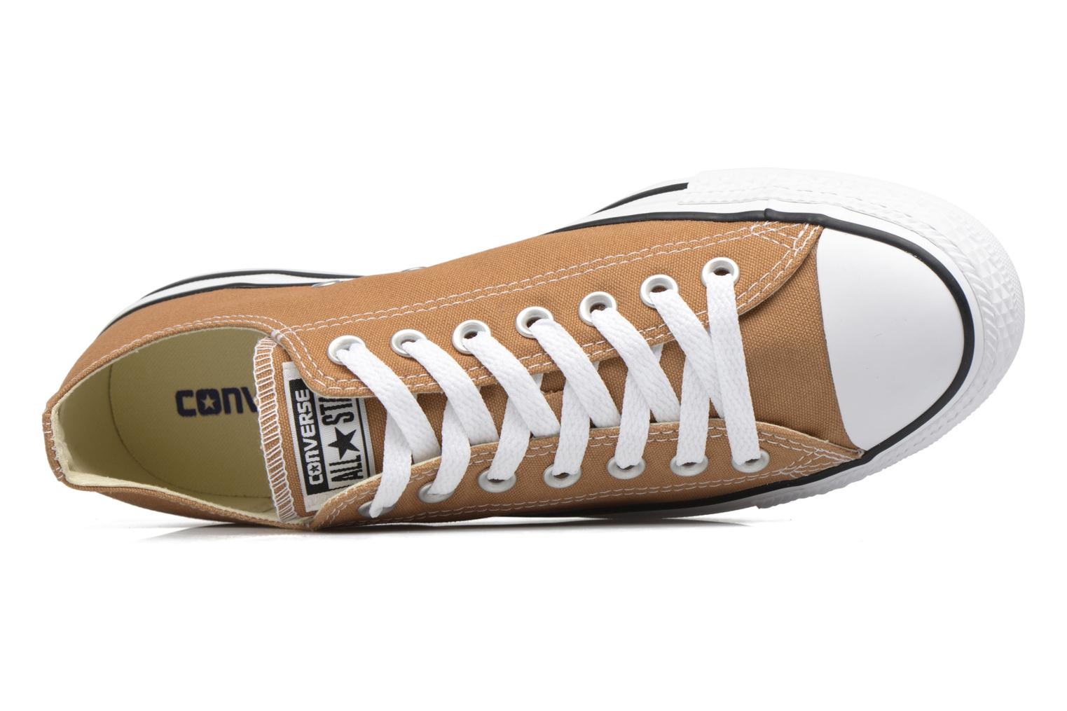 Trainers Converse Chuck Taylor All Star Ox M Brown view from the left