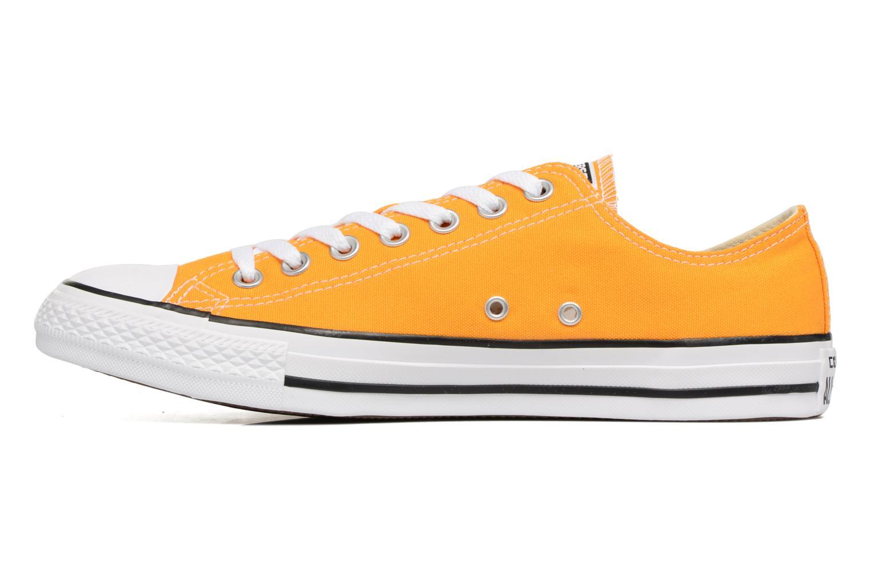Sneaker Converse Chuck Taylor All Star Ox M gelb ansicht von vorne