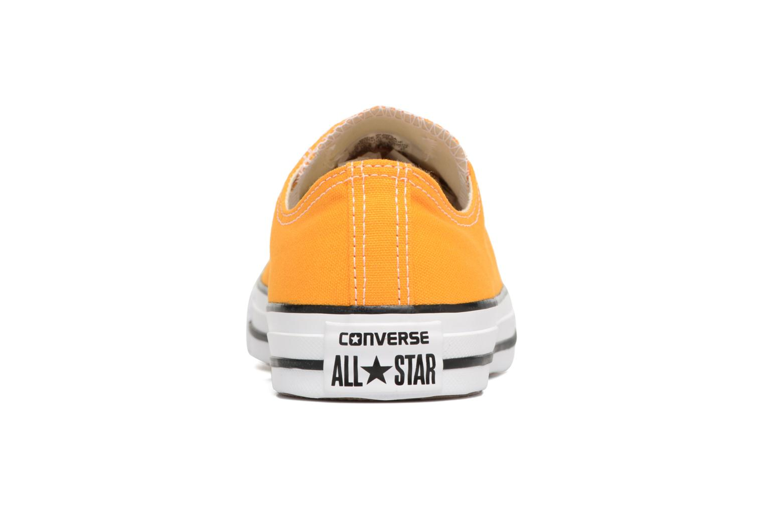 Trainers Converse Chuck Taylor All Star Ox M Yellow view from the right