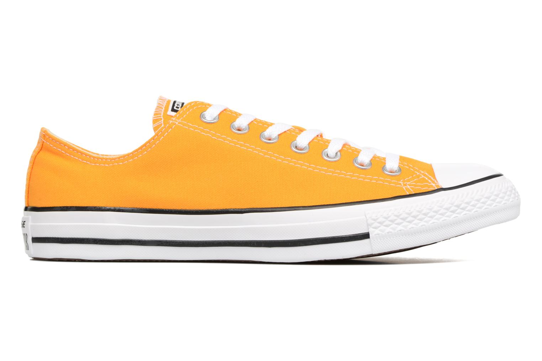 Sneaker Converse Chuck Taylor All Star Ox M gelb ansicht von hinten