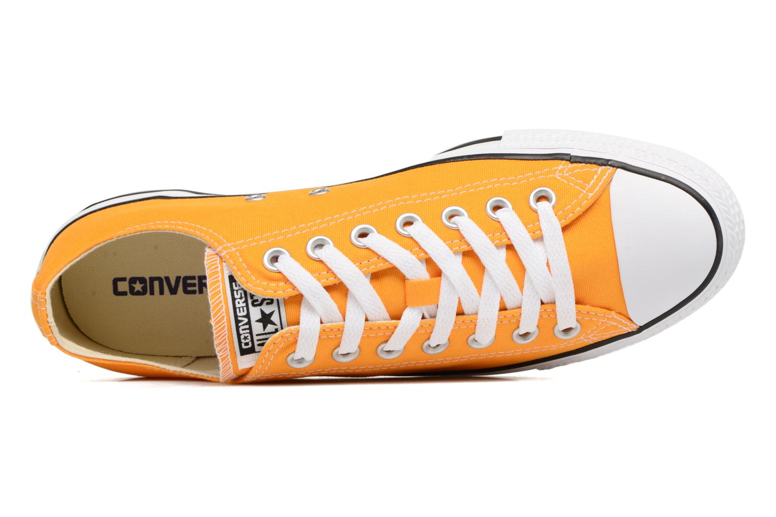 Sneaker Converse Chuck Taylor All Star Ox M gelb ansicht von links