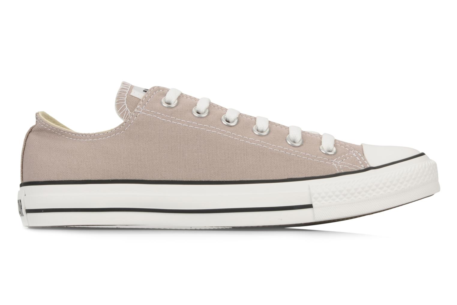 Baskets Converse Chuck Taylor All Star Ox M Rose vue derrière