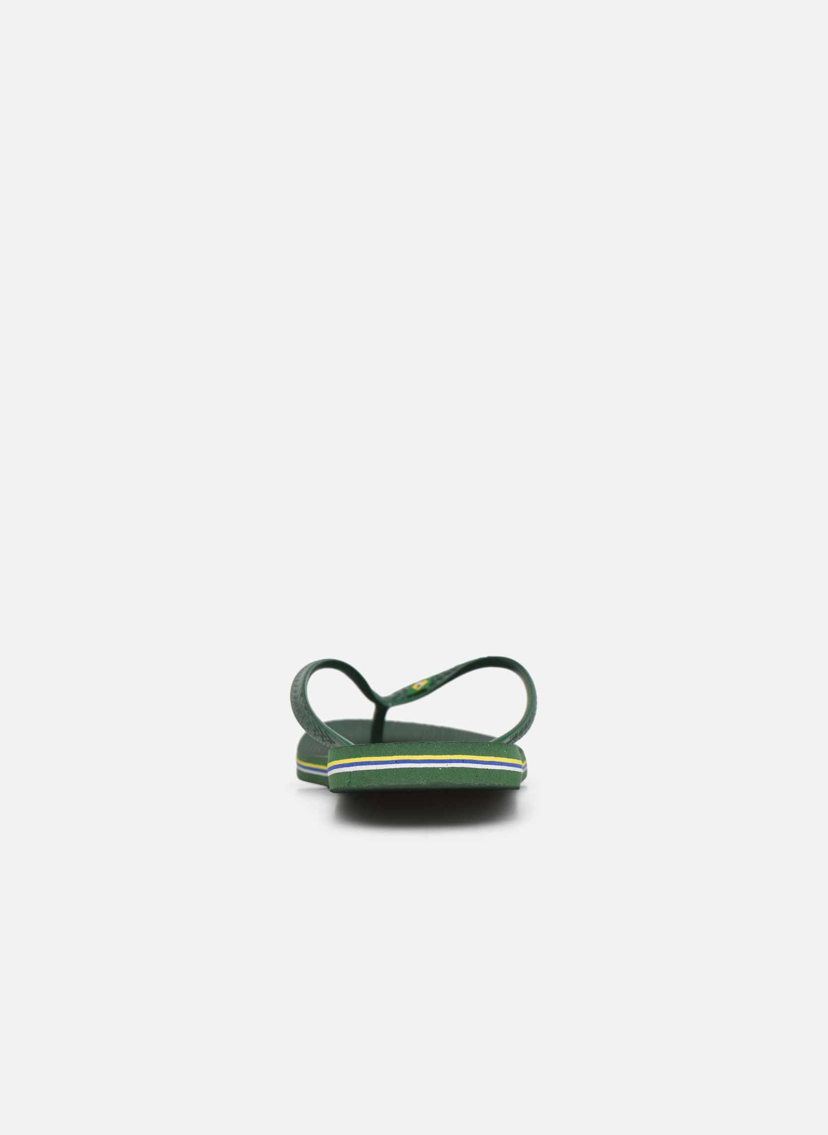 Flip flops Havaianas Brazil H Green view from the right