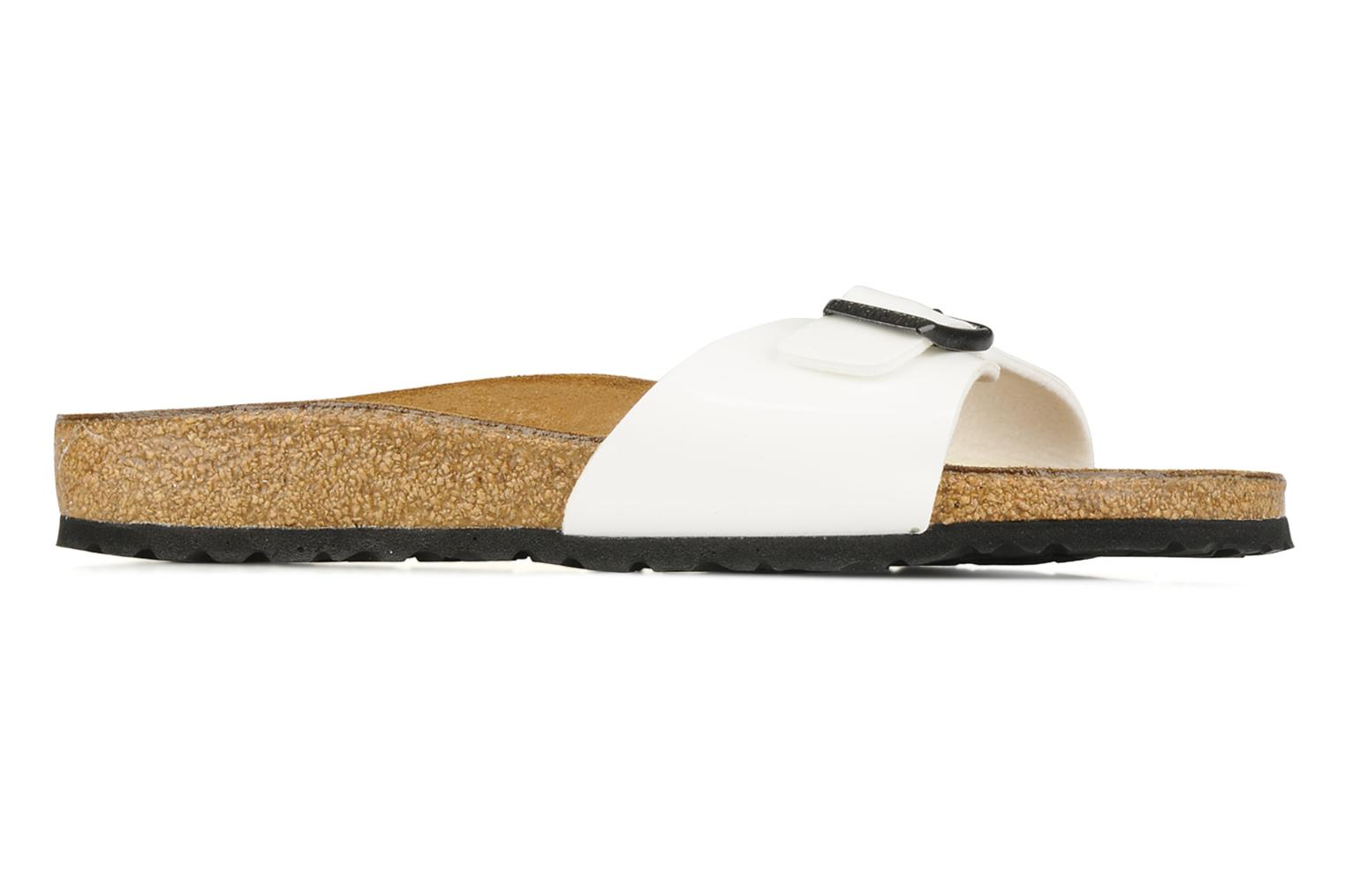 Mules & clogs Birkenstock Madrid Flor W White back view