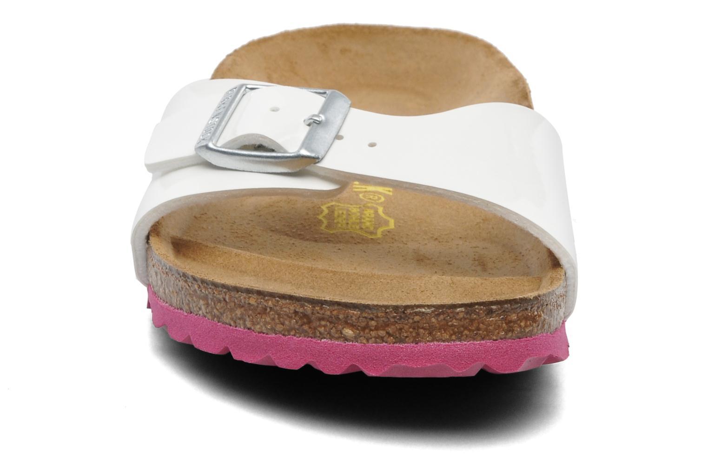 Madrid Flor W (Smal model) Vernis White / LS Pink