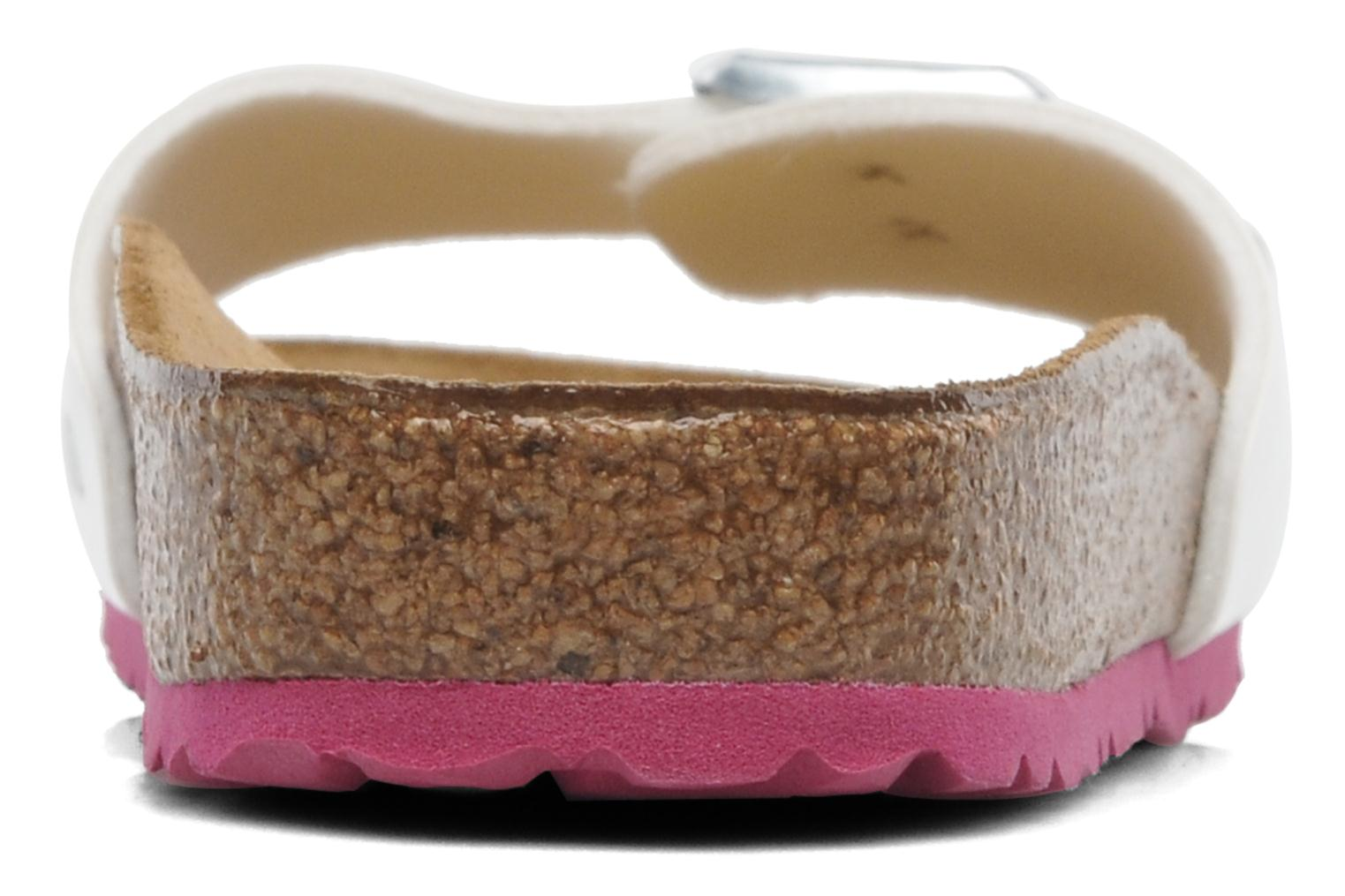 Mules & clogs Birkenstock Madrid Flor W White view from the right