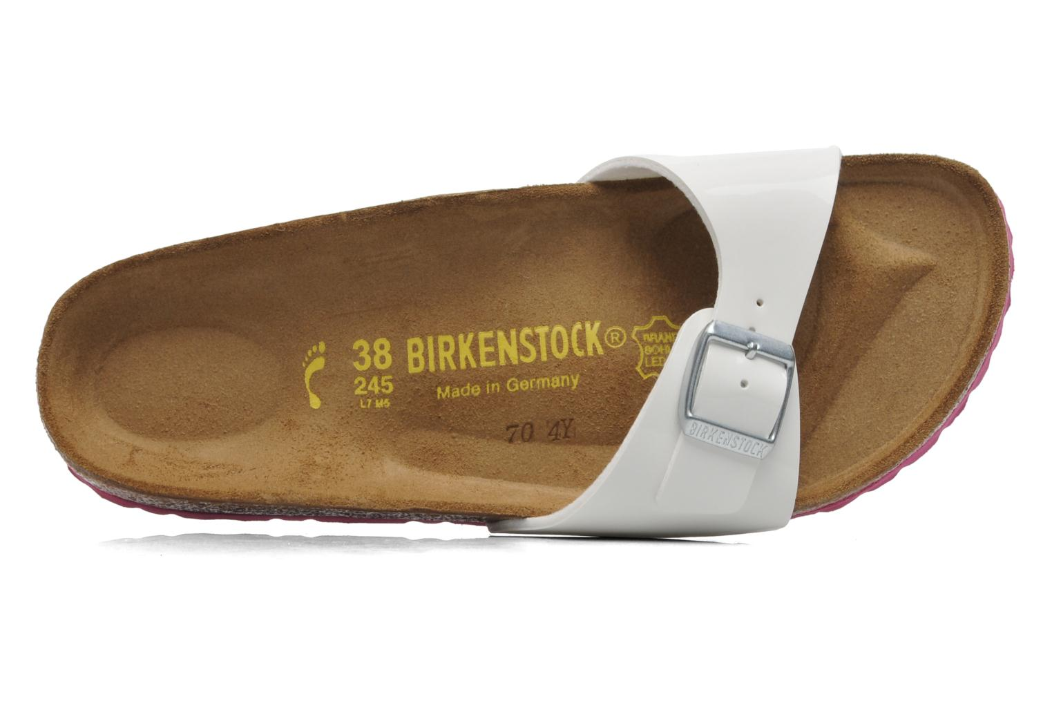 Wedges Birkenstock Madrid Flor W Wit links