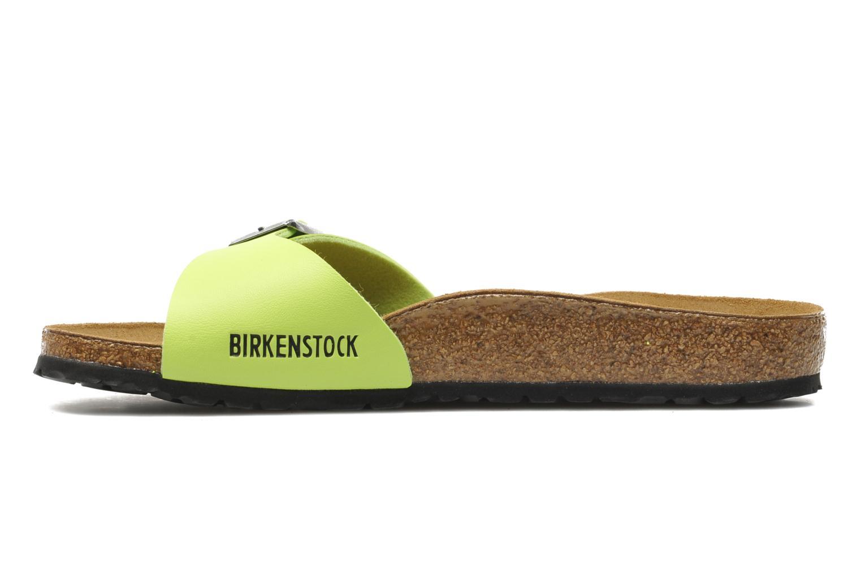 Wedges Birkenstock Madrid Flor W Groen voorkant
