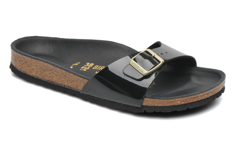 Zapatos de promoción hombre y mujer de promoción de por tiempo limitado Birkenstock Madrid Flor W (Negro) - Zuecos en Más cómodo 6da36b