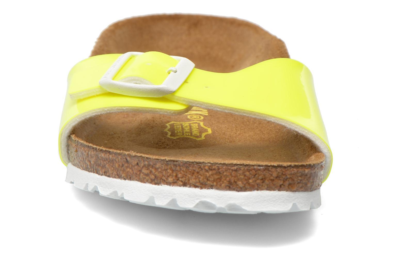 Mules et sabots Birkenstock Madrid Flor W Jaune vue portées chaussures