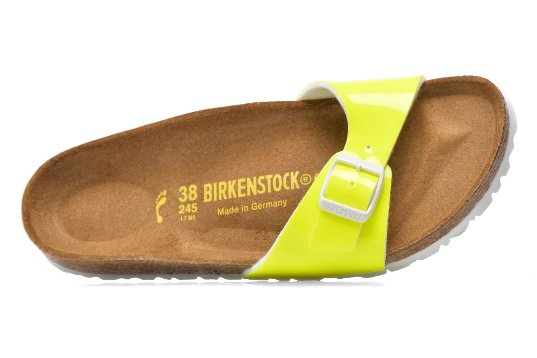Mules et sabots Birkenstock Madrid Flor W Jaune vue gauche