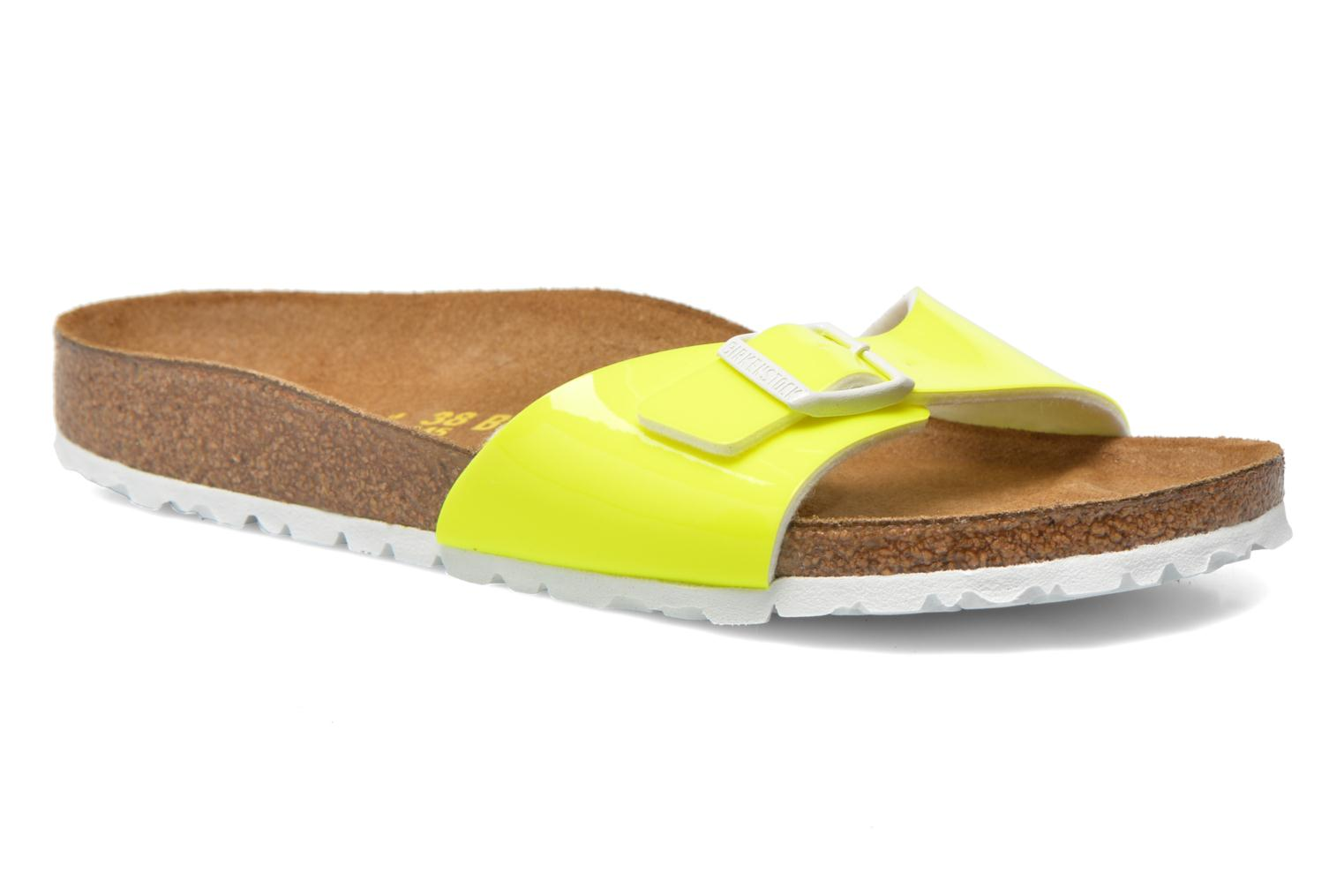 Mules & clogs Birkenstock Madrid Flor W Yellow detailed view/ Pair view