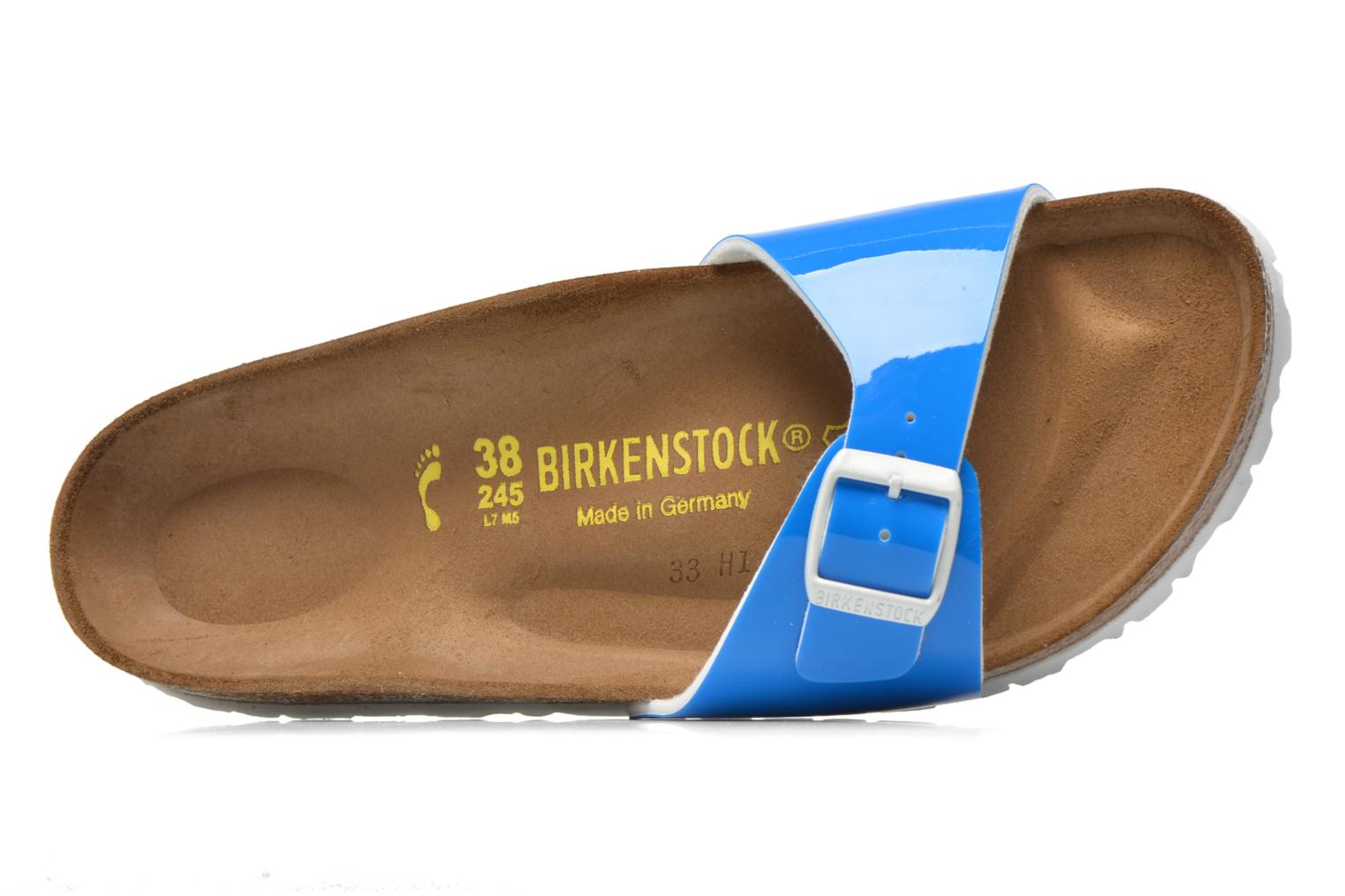Mules & clogs Birkenstock Madrid Flor W Blue view from the left