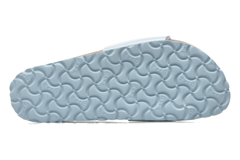 Clogs & Pantoletten Birkenstock Madrid Flor W blau ansicht von oben