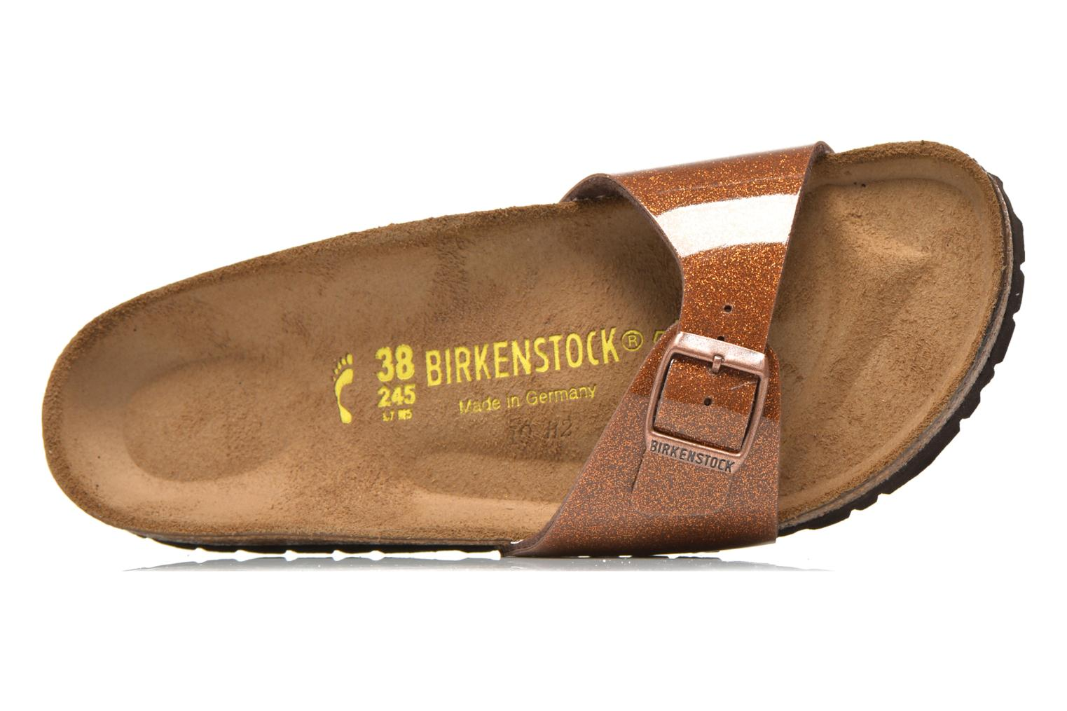Wedges Birkenstock Madrid Flor W Goud en brons links