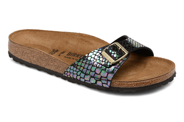 Zapatos promocionales Birkenstock Madrid Flor W (Negro) - Zuecos   Casual salvaje