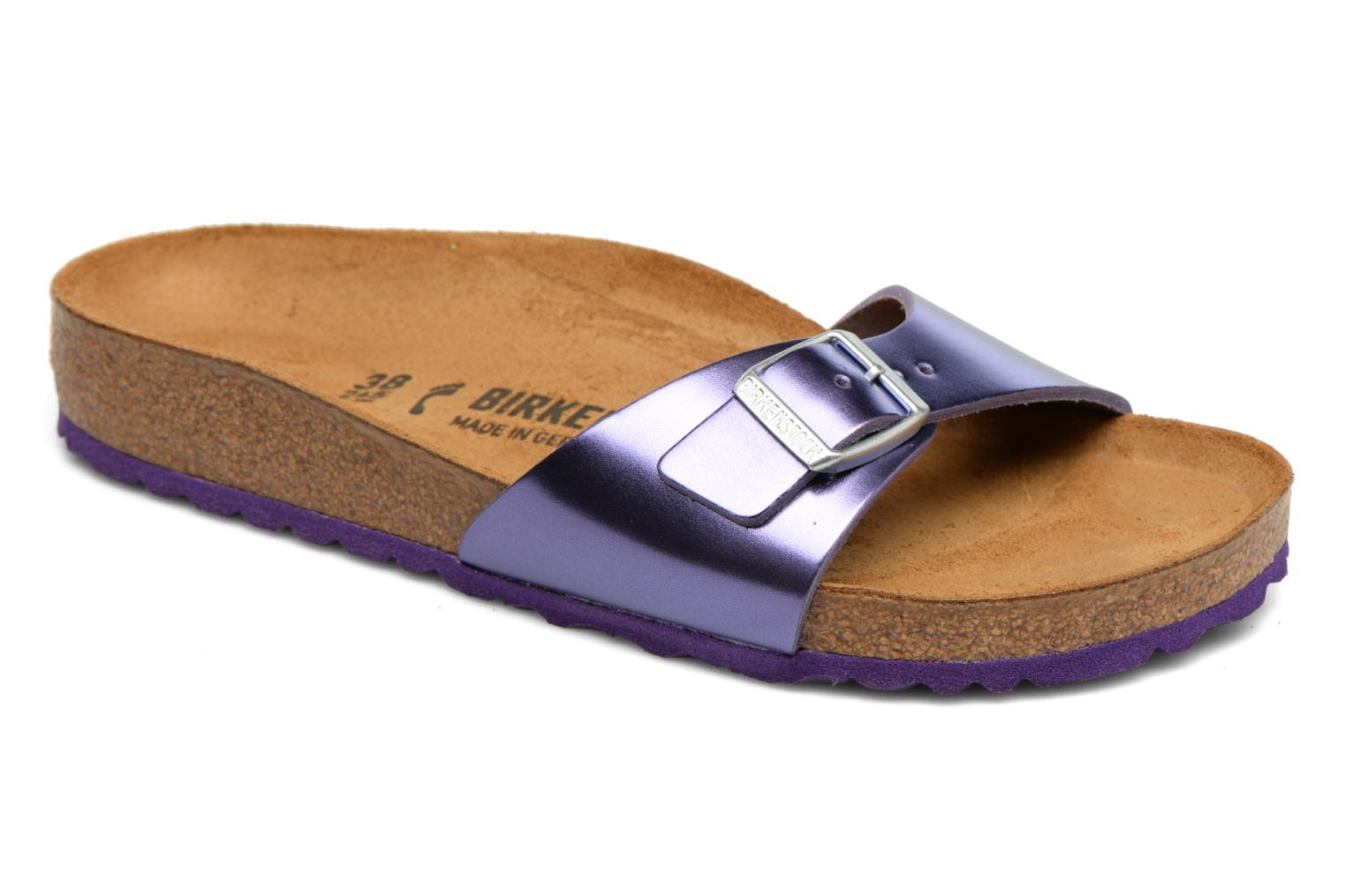 Mules & clogs Birkenstock Madrid Flor W Purple detailed view/ Pair view