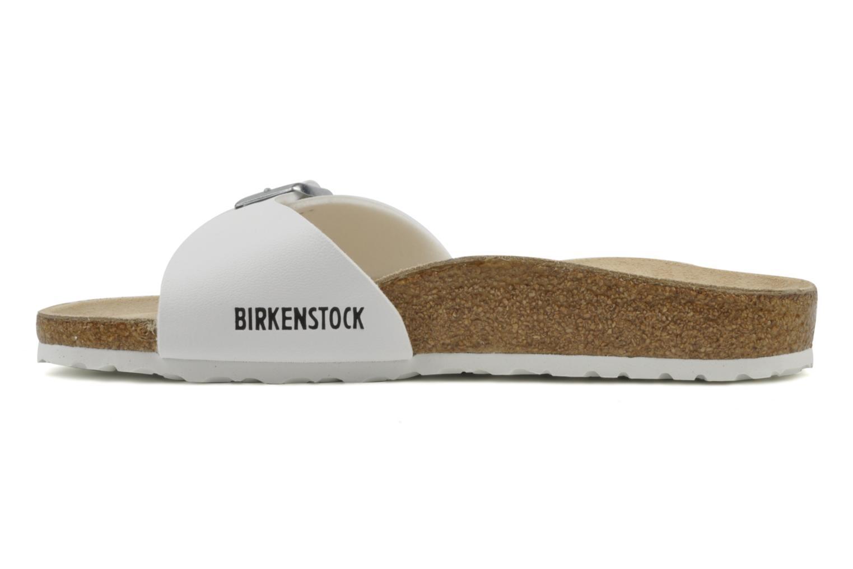 Clogs & Pantoletten Birkenstock Madrid Flor W weiß ansicht von vorne