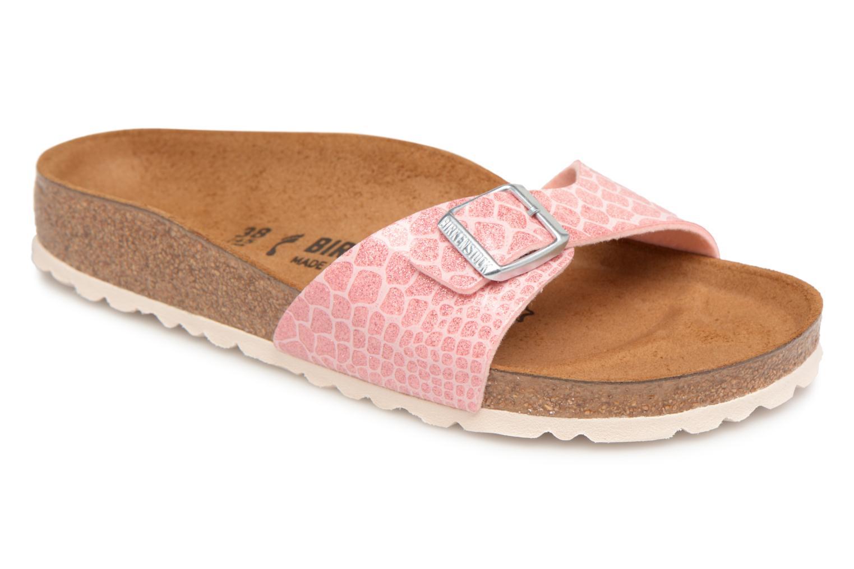 Zapatos promocionales Birkenstock Madrid Flor W (Rosa) - Zuecos   Venta de liquidación de temporada