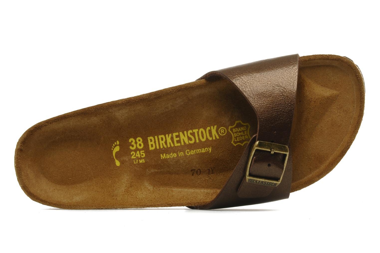Träskor & clogs Birkenstock Madrid Flor W Brun bild från vänster sidan