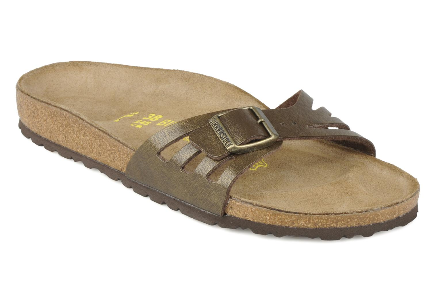 Mules & clogs Birkenstock Molina Flor W Bronze and Gold detailed view/ Pair  view