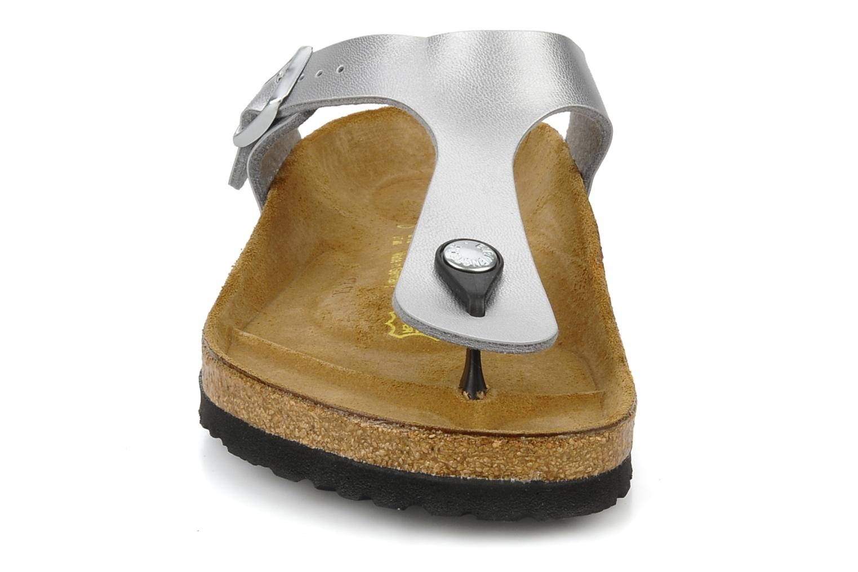 Sandaler Birkenstock Gizeh Flor W Sølv se skoene på